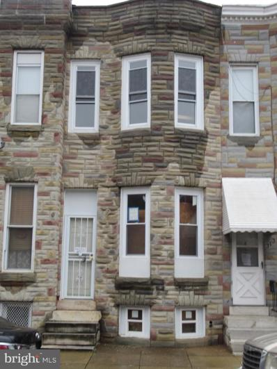 311 S Mount Street, Baltimore, MD 21223 - #: MDBA534440
