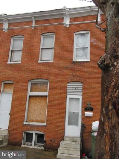 1347 Herkimer Street, Baltimore, MD 21223 - #: MDBA534442