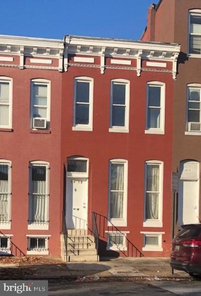 1412 N Eden Street, Baltimore, MD 21213 - #: MDBA534562