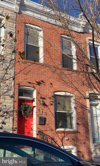 110 N Curley Street, Baltimore, MD 21224 - #: MDBA534714