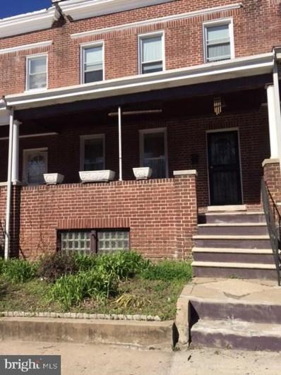 1916 N Bentalou Street, Baltimore, MD 21216 - #: MDBA534904