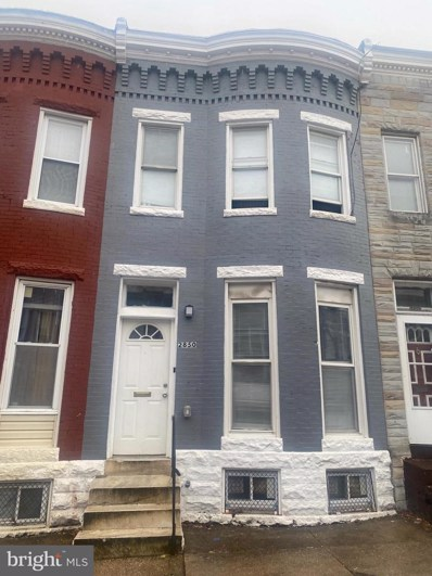 2850 Woodbrook Avenue, Baltimore, MD 21217 - #: MDBA534912