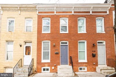 446 E Federal Street, Baltimore, MD 21202 - #: MDBA535114