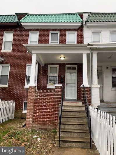 5210 Cuthbert Avenue, Baltimore, MD 21215 - #: MDBA535232