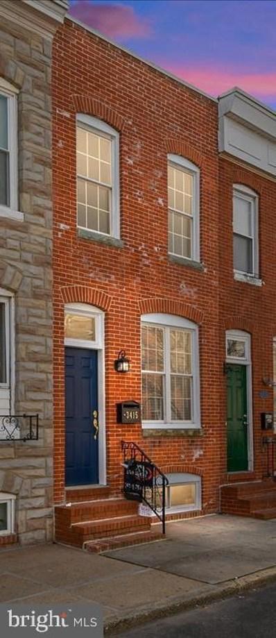 3415 Mount Pleasant Avenue, Baltimore, MD 21224 - #: MDBA535262
