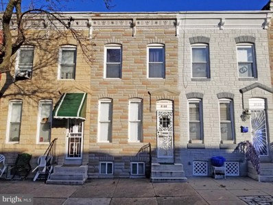 2122 W Fayette Street, Baltimore, MD 21223 - #: MDBA535384