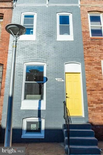 2222 Prentiss Place, Baltimore, MD 21205 - #: MDBA535448