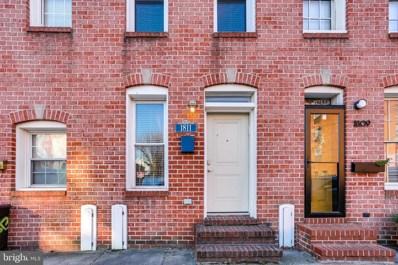 1811 Aliceanna Street, Baltimore, MD 21231 - #: MDBA535742