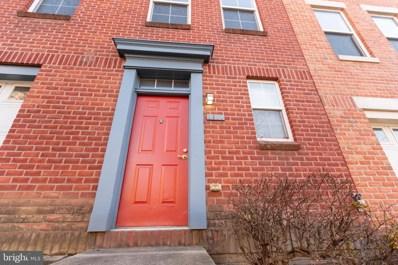 1611 E Fairmount Avenue, Baltimore, MD 21231 - #: MDBA535794