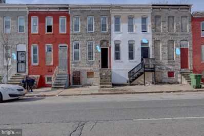 314 S Fulton Avenue, Baltimore, MD 21223 - #: MDBA535860