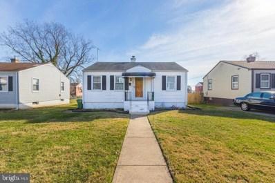 4001 Primrose Avenue, Baltimore, MD 21215 - #: MDBA536092