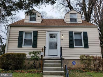 830 Cedarcroft Road, Baltimore, MD 21212 - #: MDBA536128
