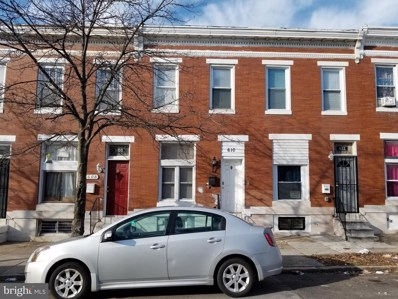 610 N Kenwood Avenue, Baltimore, MD 21205 - #: MDBA536226
