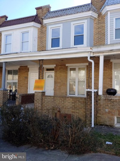 2823 W Mulberry Street, Baltimore, MD 21223 - #: MDBA536260