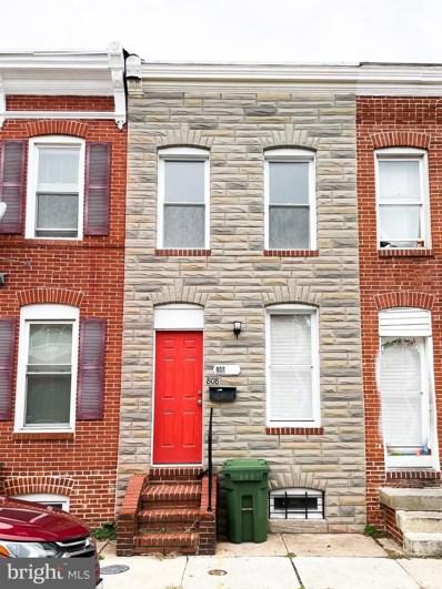 808 Mangold Street, Baltimore, MD 21230 - #: MDBA536276