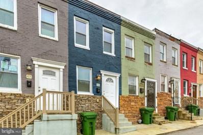 411 Mcallister Street, Baltimore, MD 21202 - #: MDBA536290