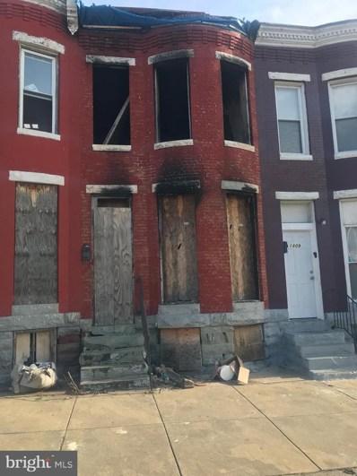 1811 N Pulaski Street, Baltimore, MD 21217 - #: MDBA536404