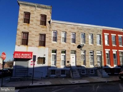 1944 Penrose Avenue, Baltimore, MD 21223 - #: MDBA536514