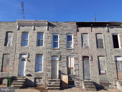 332 S Smallwood Street, Baltimore, MD 21223 - #: MDBA536516
