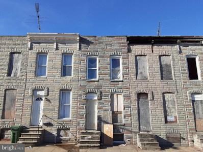 332 S Smallwood Street, Baltimore, MD 21223 - #: MDBA536516