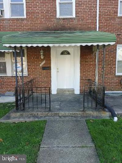 1547 E Cold Spring Lane, Baltimore, MD 21218 - #: MDBA536590