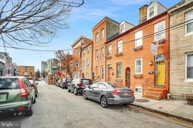 1712 Lancaster Street, Baltimore, MD 21231 - #: MDBA536600