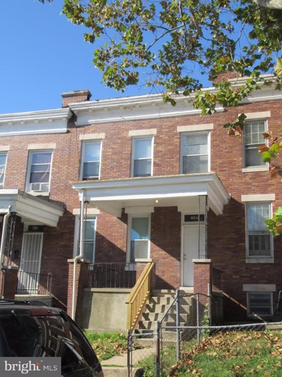 614 N Grantley Street, Baltimore, MD 21229 - #: MDBA536628