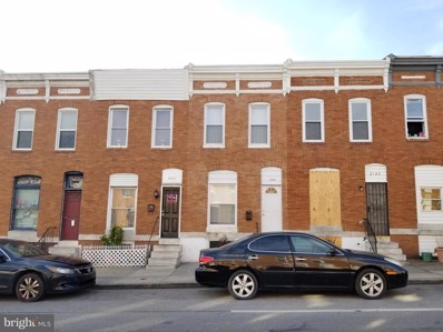 2523 E Madison Street, Baltimore, MD 21205 - #: MDBA536652