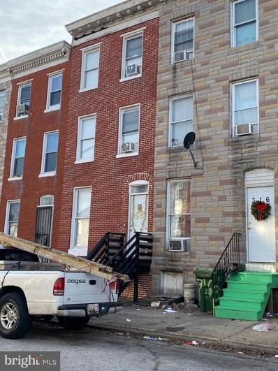 318 S Mount Street, Baltimore, MD 21223 - #: MDBA536884