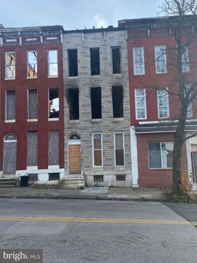 1339 W Lafayette Avenue, Baltimore, MD 21217 - #: MDBA536916