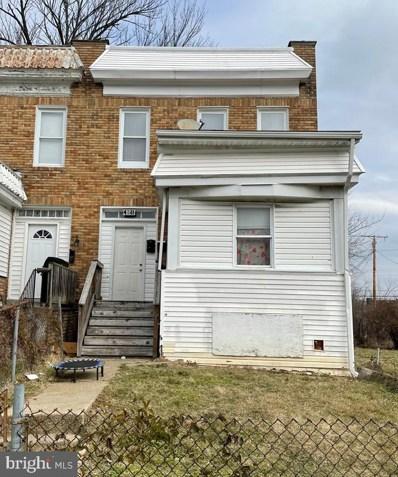 4511 Pimlico Road, Baltimore, MD 21215 - #: MDBA536958