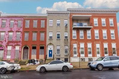 1043 W Lanvale Street, Baltimore, MD 21217 - #: MDBA536984
