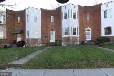 2706 Woodview Road, Baltimore, MD 21225 - #: MDBA537056