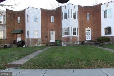 2706 Woodview Road, Baltimore, MD 21225 - #: MDBA537056