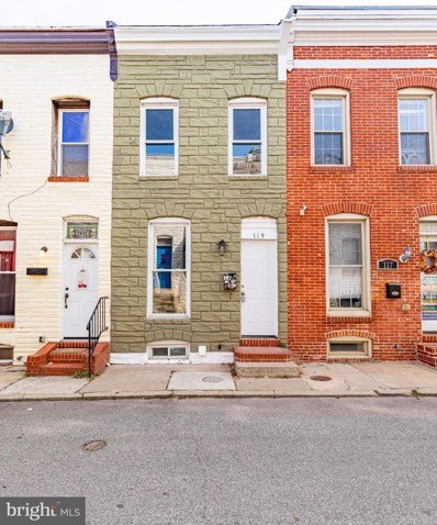 119 N Port Street, Baltimore, MD 21224 - #: MDBA537142