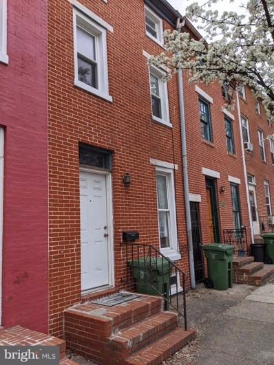 110 S Poppleton Street, Baltimore, MD 21201 - #: MDBA537200
