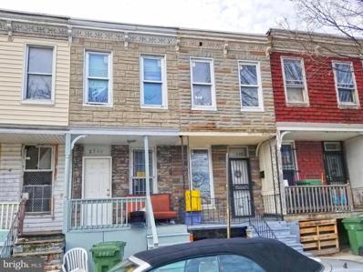 2544 Druid Hill Avenue, Baltimore, MD 21217 - #: MDBA537342