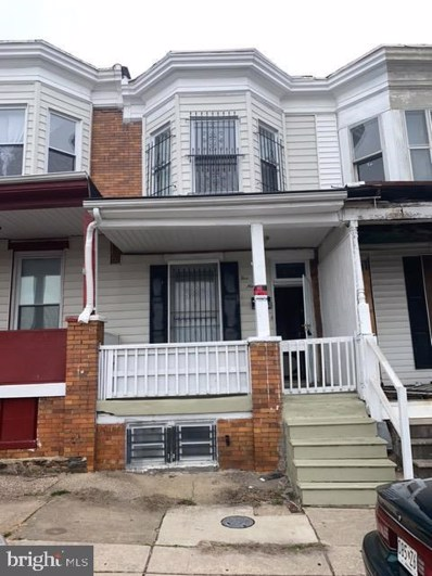 519 N Longwood Street, Baltimore, MD 21223 - #: MDBA537356