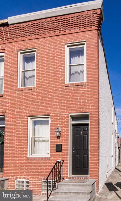 2 W Heath Street, Baltimore, MD 21230 - #: MDBA537358