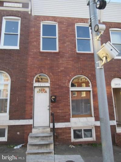 2815 Orleans Street, Baltimore, MD 21224 - #: MDBA537478