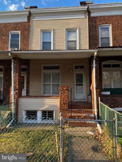 1631 Montpelier Street, Baltimore, MD 21218 - #: MDBA537504
