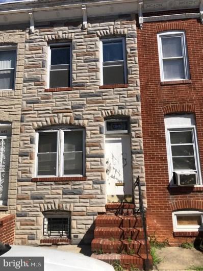 1345 Ward Street, Baltimore, MD 21230 - #: MDBA537506