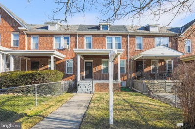 3319 Burleith Avenue, Baltimore, MD 21215 - #: MDBA537664