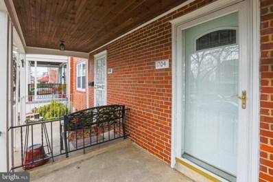 1704 Ingram Road, Baltimore, MD 21239 - #: MDBA537814