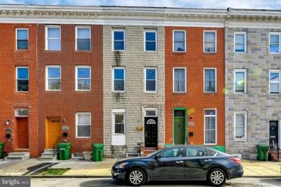 1221 N Bond Street, Baltimore, MD 21213 - #: MDBA537930