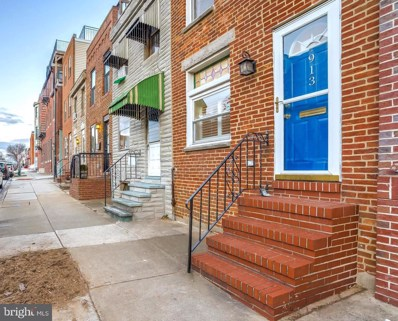 913 S Linwood Avenue, Baltimore, MD 21224 - #: MDBA537952