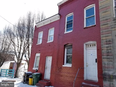 1809 Vine Street, Baltimore, MD 21223 - #: MDBA538092