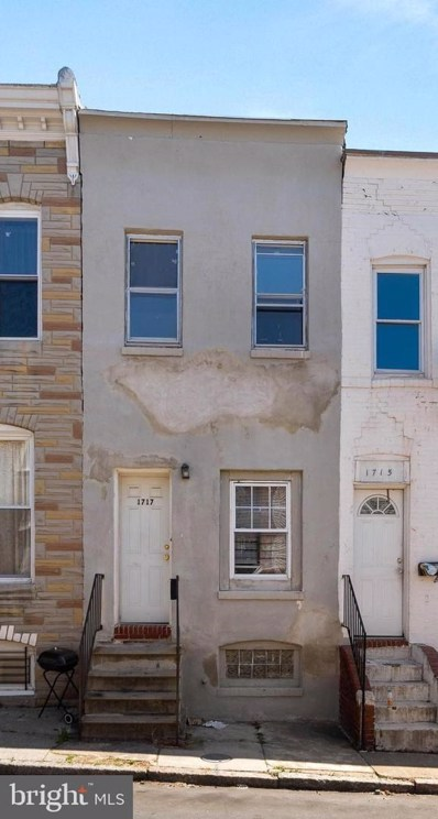 1717 N Regester Street, Baltimore, MD 21213 - #: MDBA538646