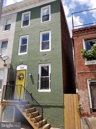 1502 McHenry Street, Baltimore, MD 21223 - #: MDBA538942