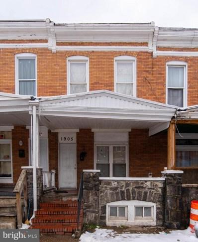 1905 N Dukeland Street, Baltimore, MD 21216 - #: MDBA539150